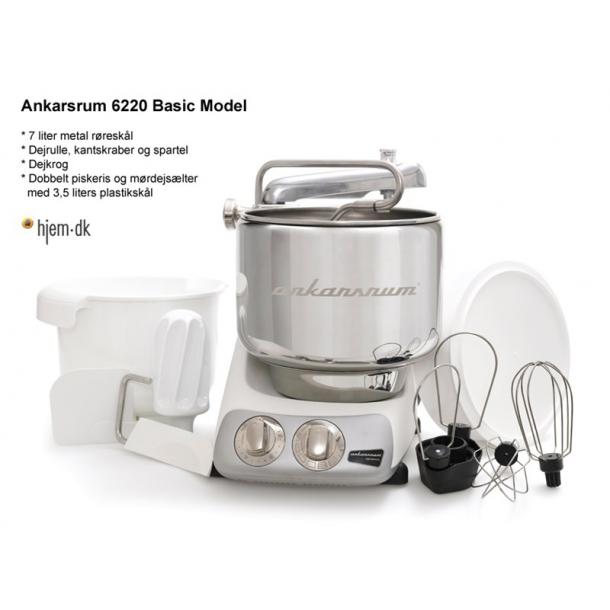 Ankarsrum Assistent Original Køkkenmaskine AKM6220B Sort - Røremaskine - Hjem.dk