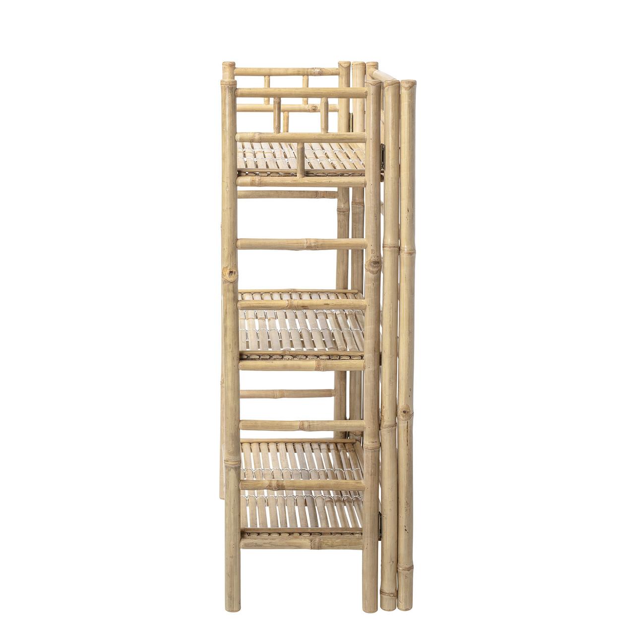 Bloomingville Bogreol 66x105cm Natur Bambus Kommoder Skabe Hjem Dk