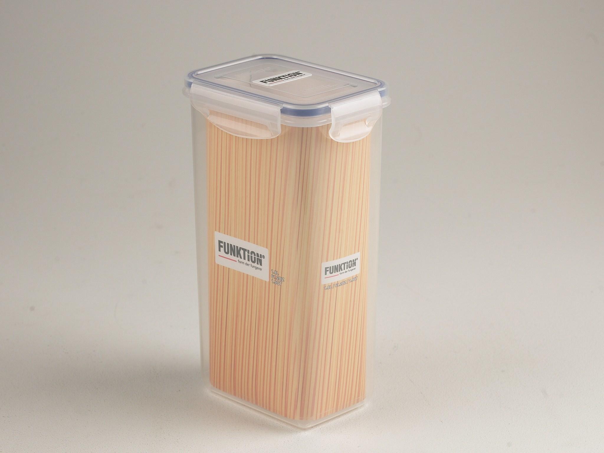 Picture of: Funktion Rektangulaer Opbevaring Plastik 1 8 Liter Madopbevaring Hjem Dk