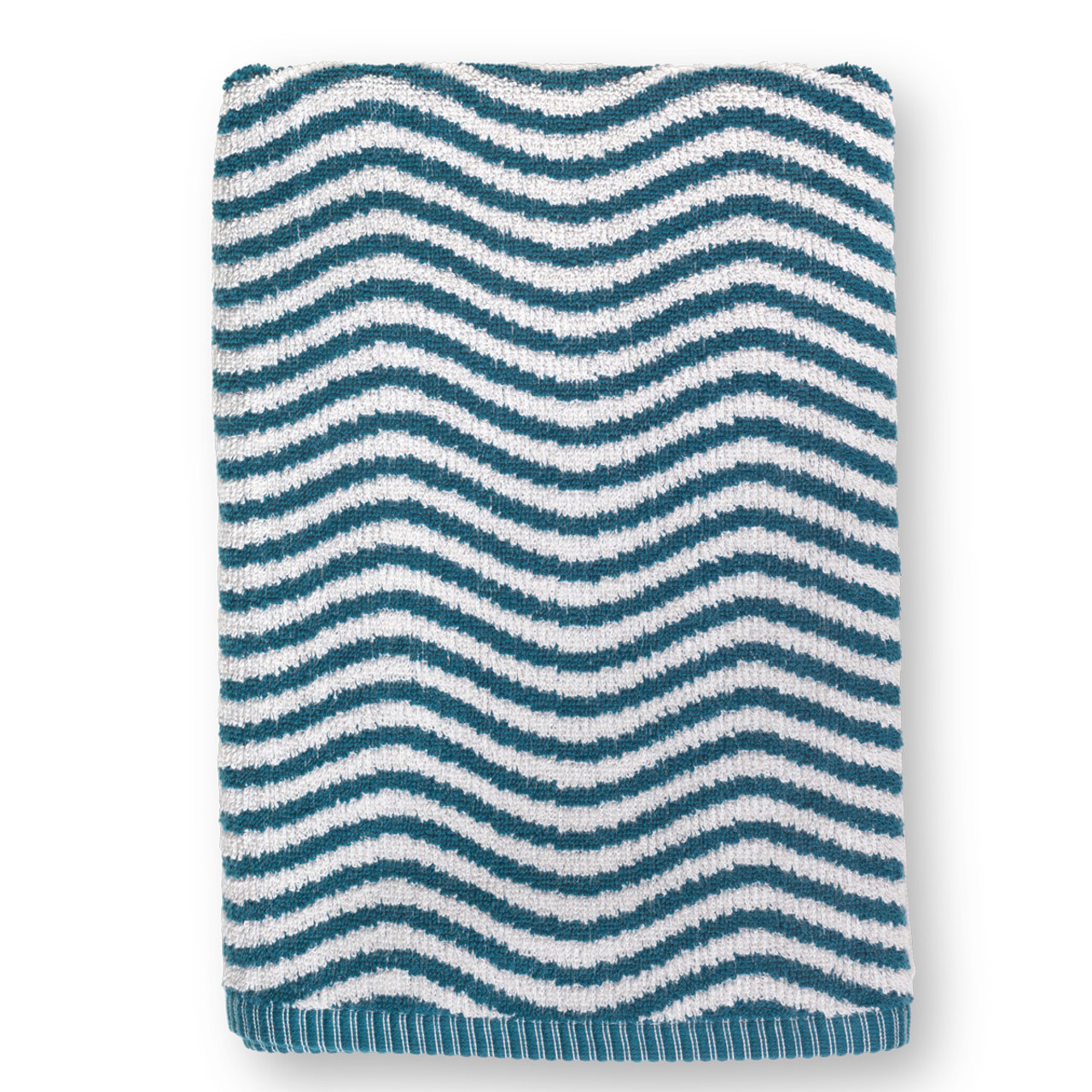 Juna Ocean Badehåndklæde Grå, Beige, Multifarve (100x50cm)